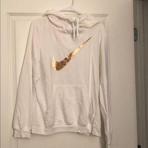 Nike Scoopneck hoodie size women's large